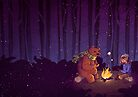 Campfire  by Maddie Chaffer