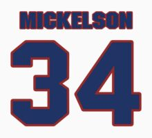 National baseball player Ed Mickelson jersey 34 by imsport