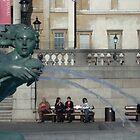 Trafalgar Square by Maria Slovakova