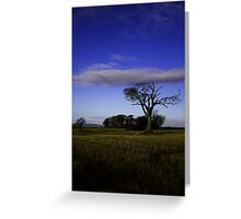 The Rihanna Tree, With The Blues! Greeting Card