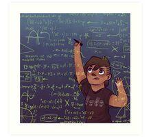 Romy + Math Art Print
