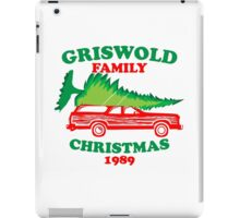 Griswold Family Christmas1989 iPad Case/Skin