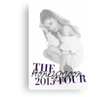 The Honeymoon Tour 2015 (Shade White Only) Canvas Print