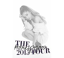 The Honeymoon Tour 2015 (Shade White Only) Photographic Print