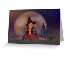 Witch's Night Out Greeting Card