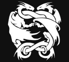Double Dragon Black by quigonjim
