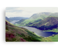 Buttermere and Crummock Water Canvas Print
