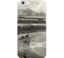 Vintage Baseball Game iPhone Case/Skin