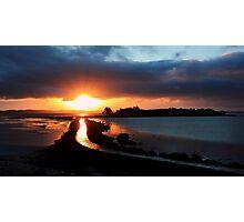 Island Hill Sunrise Photographic Print
