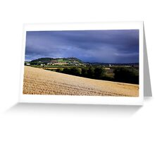 Scrabo View Greeting Card