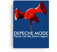 Depeche Mode : Never Let Me Down Again 2 Canvas Print