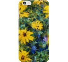 Goghflowers iPhone Case/Skin