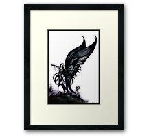 bog fairy by Jesse Lindsay 2007 Framed Print
