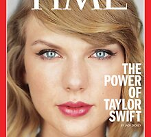 """the power of taylor swift"" time taylor swift poster by fiji"