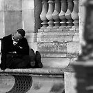 Nap in Paris by Douzy
