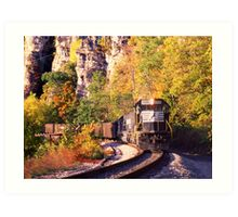 Eggleston, VA Coal Drag - Virginian Railway Art Print