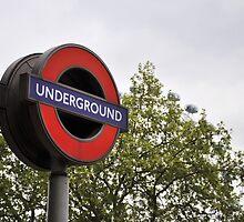 Underground - London by Hilda Rytteke