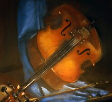 The 'cello by Sylvia Karall