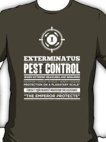 Exterminatus - Inquisition - Warhammer T-Shirt