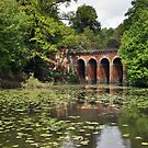 Hampstead Heath Viaduct - London by Hilda Rytteke