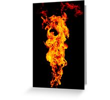 Universal Flame. Greeting Card