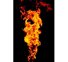 Universal Flame. Photographic Print