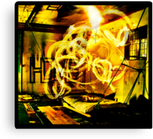 Epicentre Fire - Transmutation Canvas Print