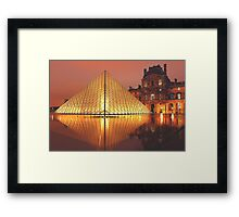 The Louvre Framed Print