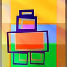 FIBONACCI BOT AT SUNRISE by Iva Penner