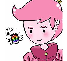 Prince Gumball- Visit the Candy Kingdom!  by NightingaleArt