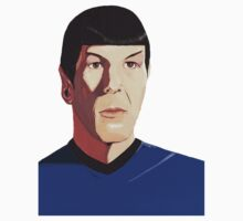 Mr Spock tshirt by Andy  Housham