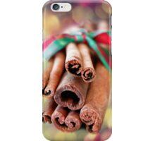 Cinnamon Sticks iPhone Case/Skin