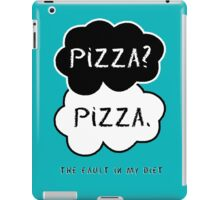 The Fault In My Diet iPad Case/Skin