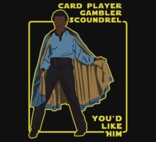 Card Player, Gambler, Scoundrel! by Paulychilds