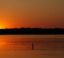 Medicine Lake Sunset by discerninglight