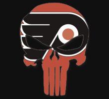 Philadelphia Flyers Punisher Logo by VelocityDesigns