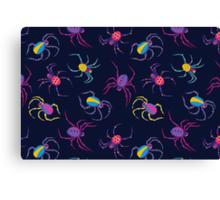 Cute Spider PATTERN  Canvas Print