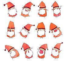 Happy Little Santas by Anna-Maren Zehnter
