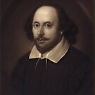 Vintage Portrait of William Shakespeare by Vintage Works