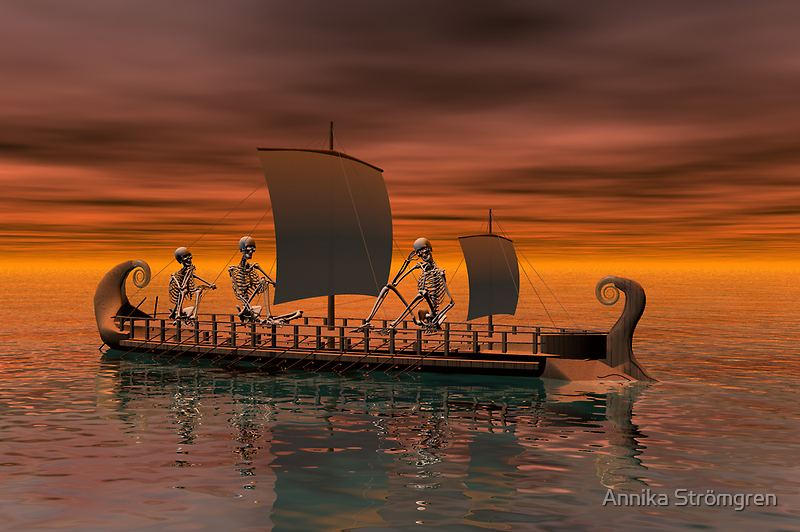 Ghost ship by Annika Strömgren