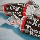 Tootsie Roll  by Pamela Burger