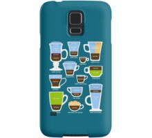 Espresso-Based Drinks Guide Samsung Galaxy Case/Skin