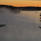Misty Fall Morning by Keeawe