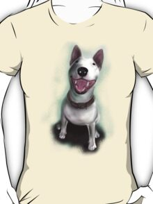 Lola English Bull Terrier Painting T-Shirt
