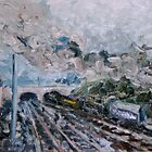Goods by Rail by Raymond  Hedley