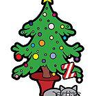 Minya Christmas IV by thickblackoutline