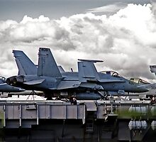 Navy FA-18 by Nathan T