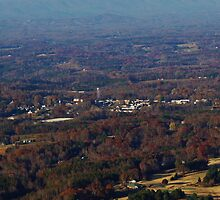 Town of Pilot Mountain, NC by paulboggs