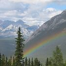 Rainbow Over Banff by caybeach