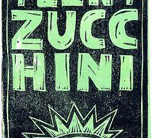 Teeny Zucchini by El Rey